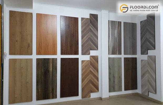 Hiện nay các loại ván sàn gỗ công nghiệp có 3 quy cách phổ biến là 8mm, 10mm và 12mm